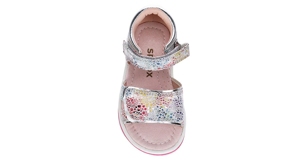 SPROX Girls Infant Regan Velcro Sandal - MULTICOLOR