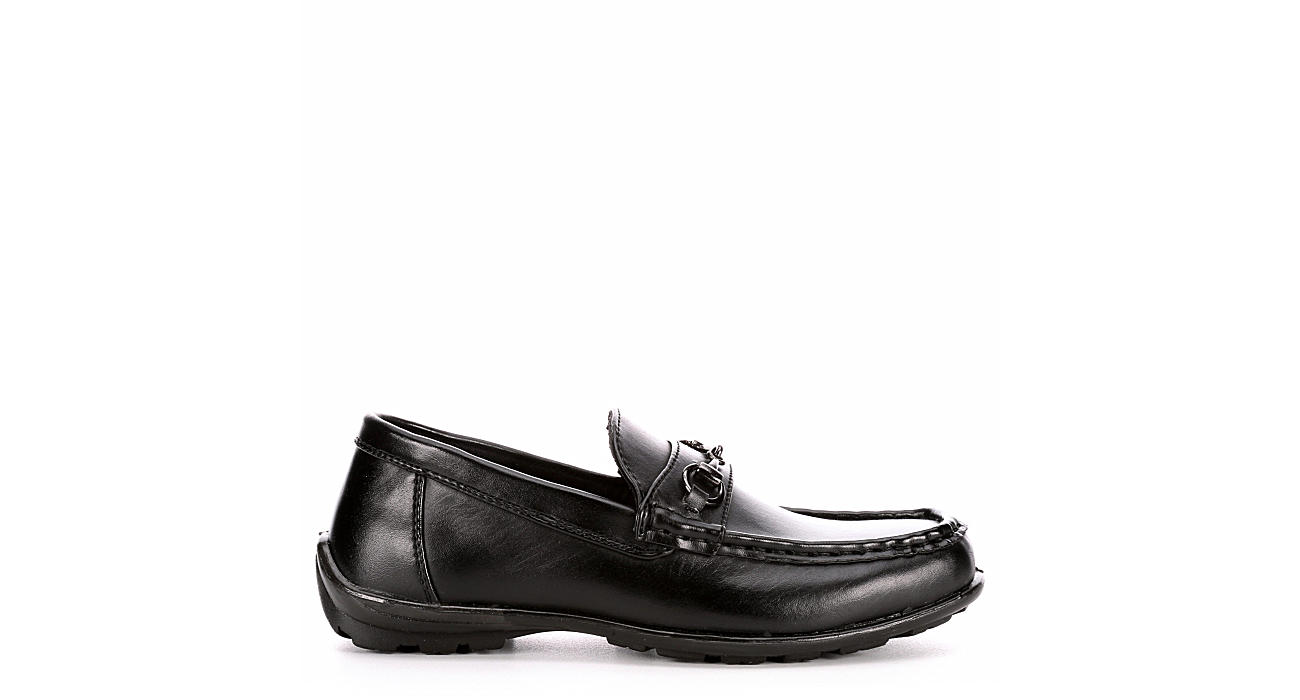 DEER STAGS Boys Latch Loafer - BLACK