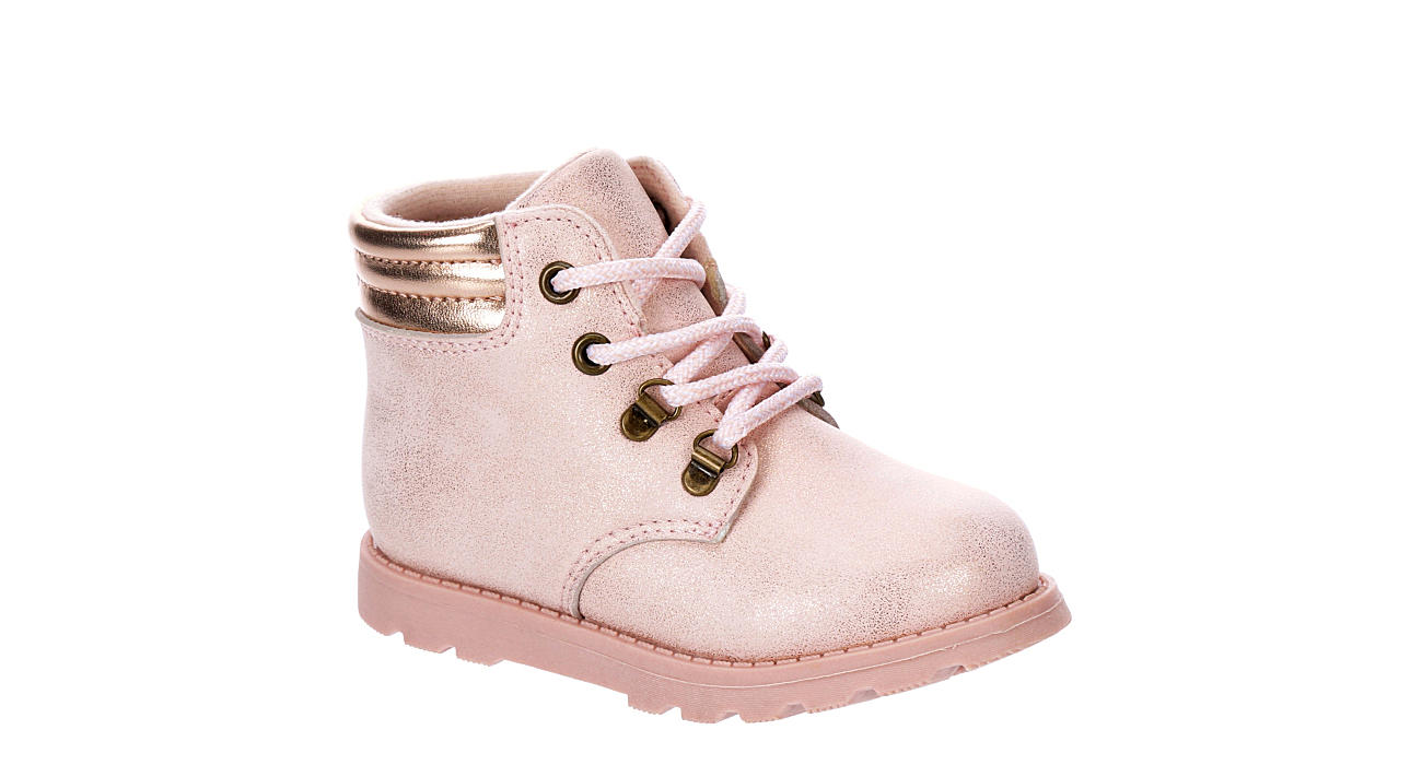 CARTERS Girls Infant Bell Boot - ROSE GOLD