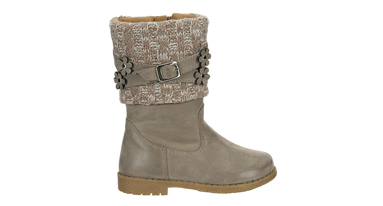RACHEL SHOES Girls Infant Kimmy Riding Boot - TAUPE