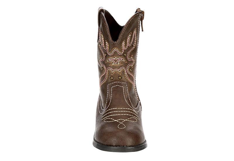 NINA KIDS Girls Infant Mirabella Western Boot - TAN