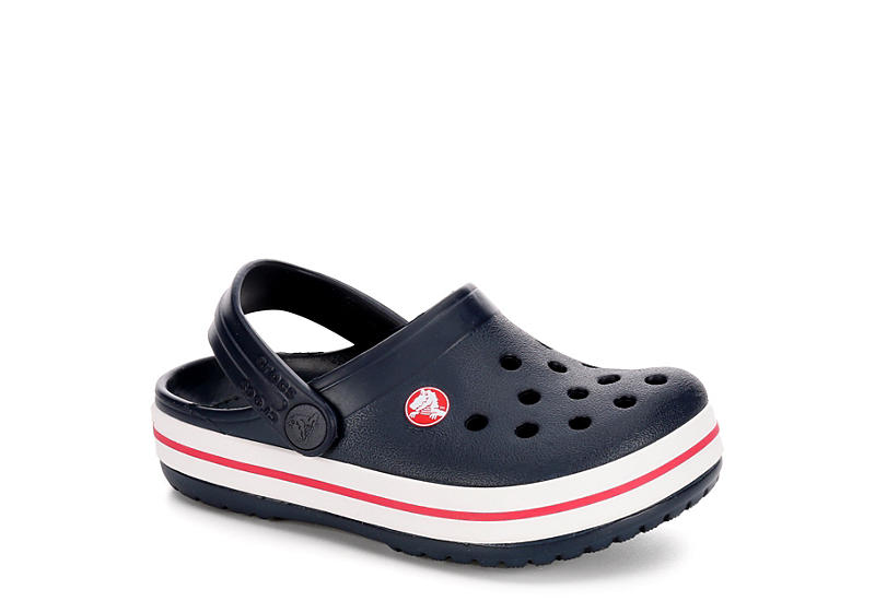 cb51338cd Crocs Boys Crocband Clog K - Navy