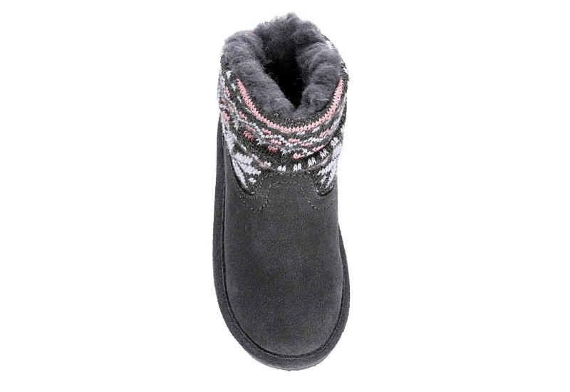 BEARPAW Girls Infant Virginia Boot - GREY