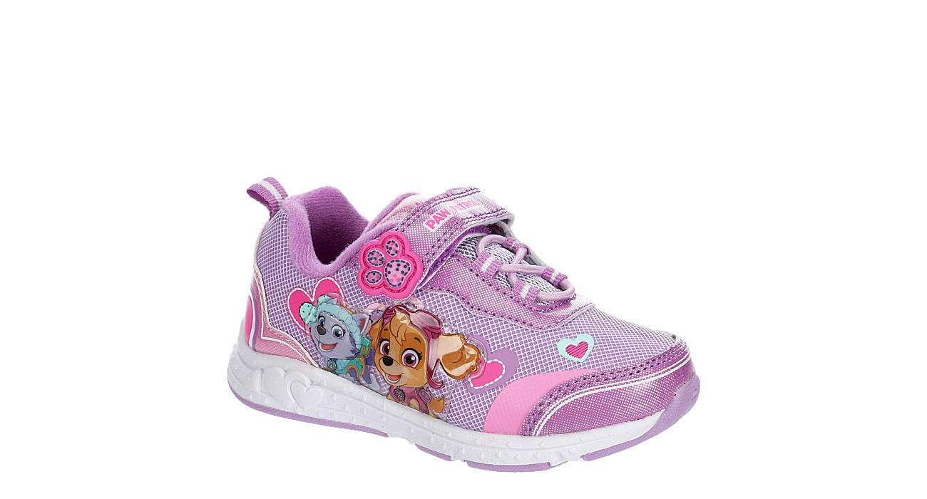 JOSMO Girls Infant Paw Patrol Velcro Sneaker - PURPLE