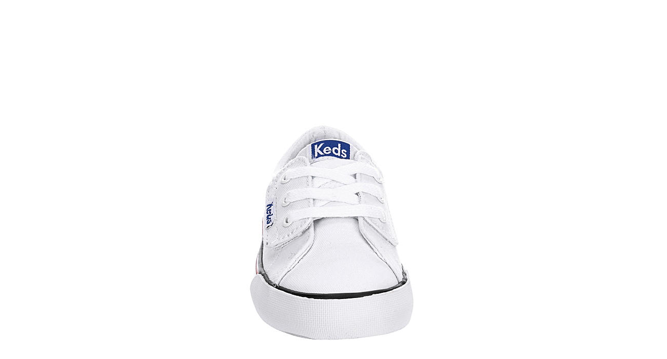 KEDS Girls Infant Jumpkick Velcro Sneaker - WHITE