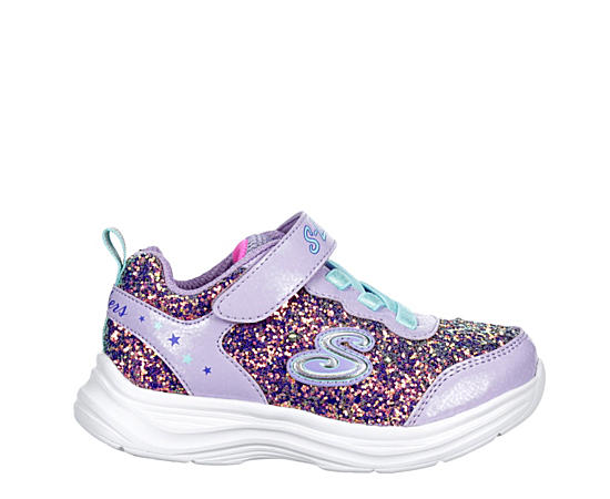 Girls S Lights Glimmer Kicks-glitter N Glow 20267n Lvaq