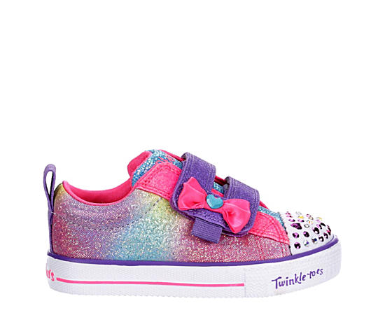Girls Twinkle Toesshuffle Lites-sweet Supply20320n-hpmt