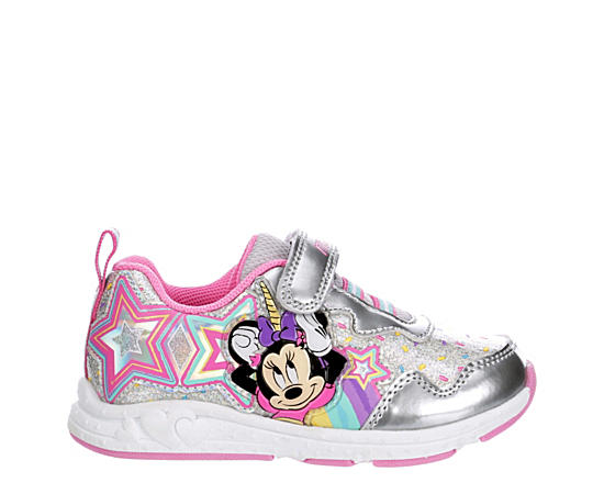 Girls Infant Minnie Mouse Velcro Sneaker