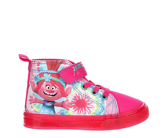Girls Infant Trolls Lighted Sneaker