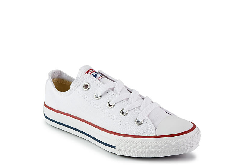 fabrikspris senare kupongkoder White Converse Boys Chuck Taylor All Star Low Sneaker | Athletic ...