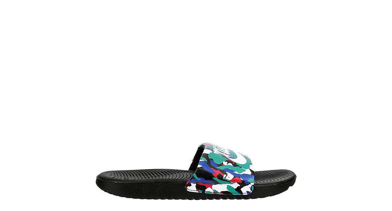 NIKE Boys Kawa Slide Sandal - NAVY
