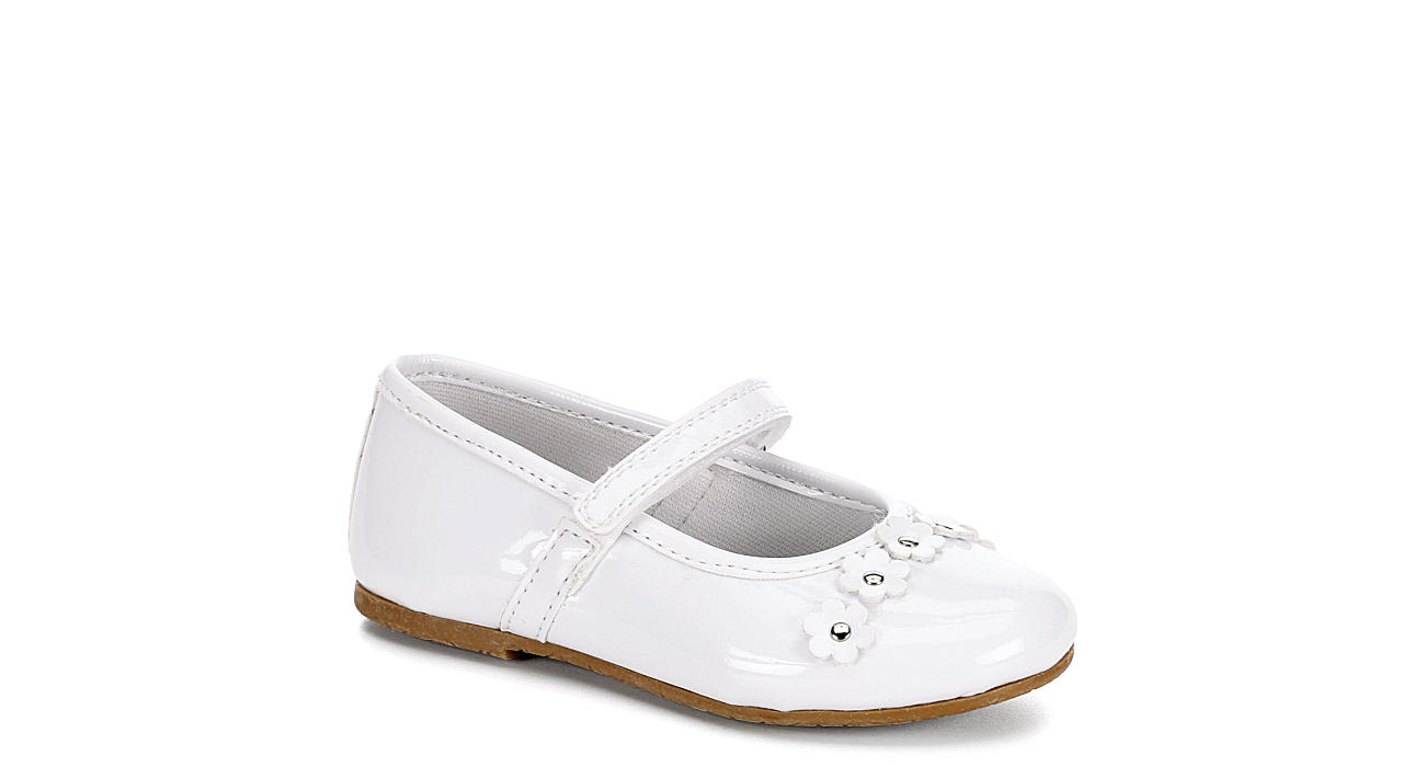White Rachel Shoes Girls Lil Madeline Dress Off Broadway Shoes