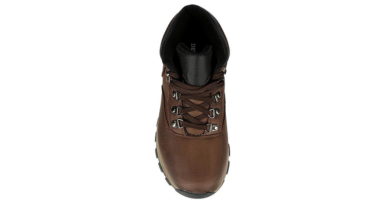DEER STAGS Boys Walker Hiking Boot - BROWN
