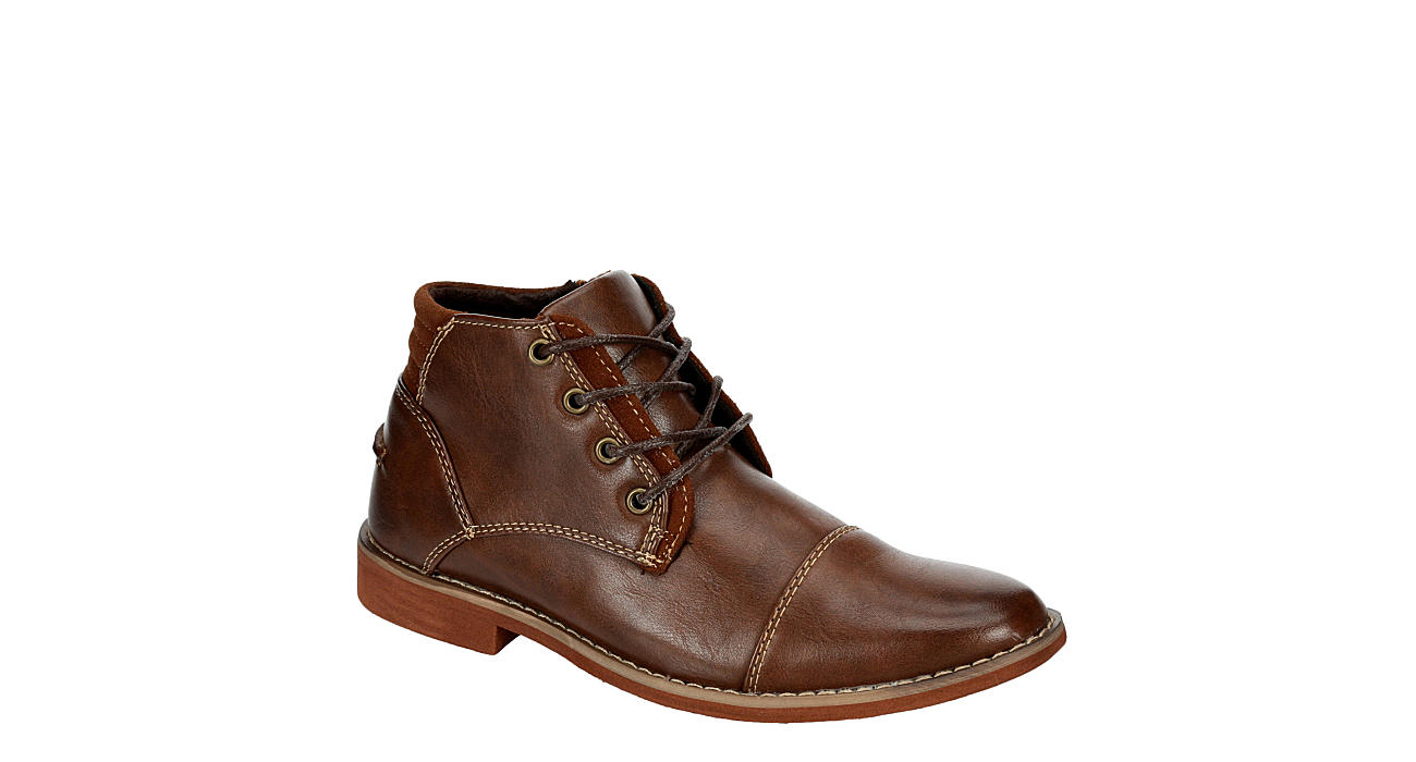 DEER STAGS Boys Hamlin Boot - BROWN