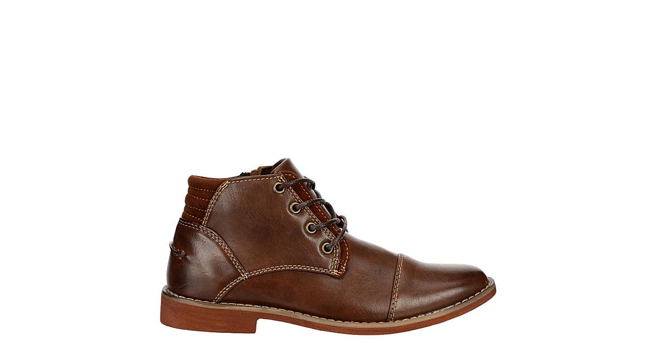 DEER STAGS Boys Hamlin Boot - BROWN