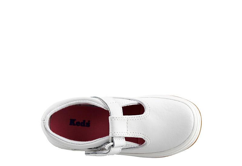 KEDS Girls Infant Daphne T-strap Sneaker - WHITE
