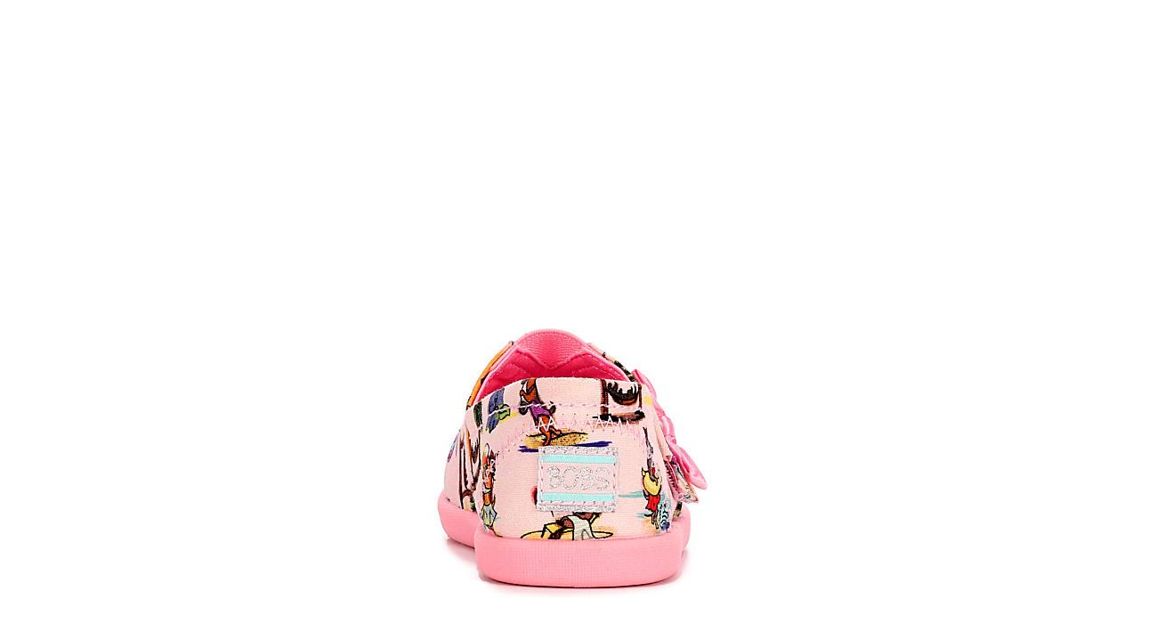 SKECHERS KIDS Girls Solstice 2.0 Flat Sneaker - PINK