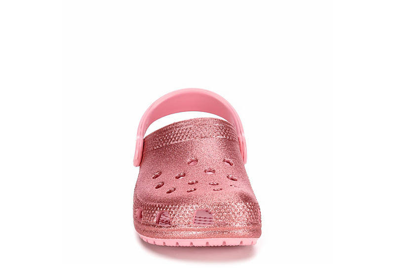 CROCS Girls Glitter Clog K - PALE PINK