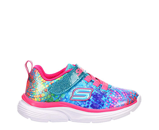 Girls Wave Lights Sneaker