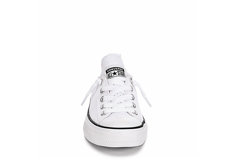 CONVERSE Girls Chuck Taylor All Star Knit Sneaker - WHITE