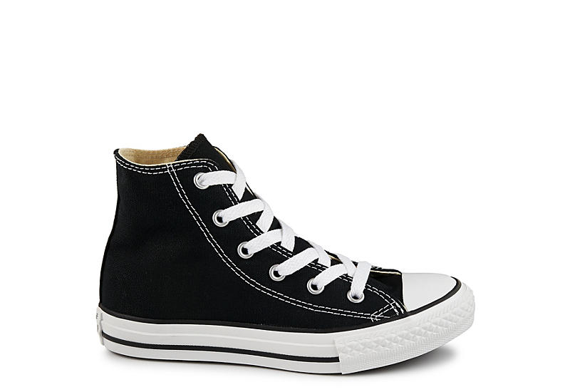 CONVERSE Boys Chuck Taylor All Star Hi Sneaker - BLACK