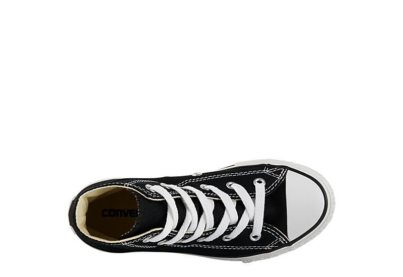 CONVERSE Boys Chuck Taylor All Star High Top Sneaker - BLACK