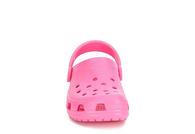 CROCS Girls Classic Clog - BRIGHT PINK