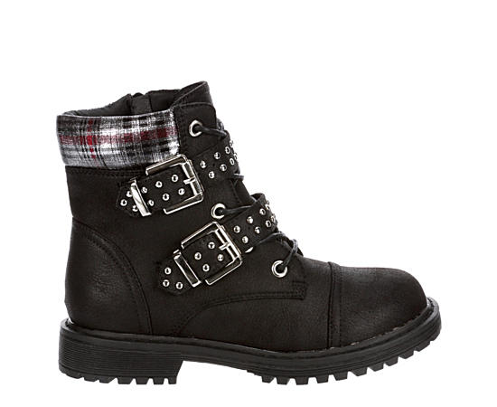 Girls Ebba Combat Boot