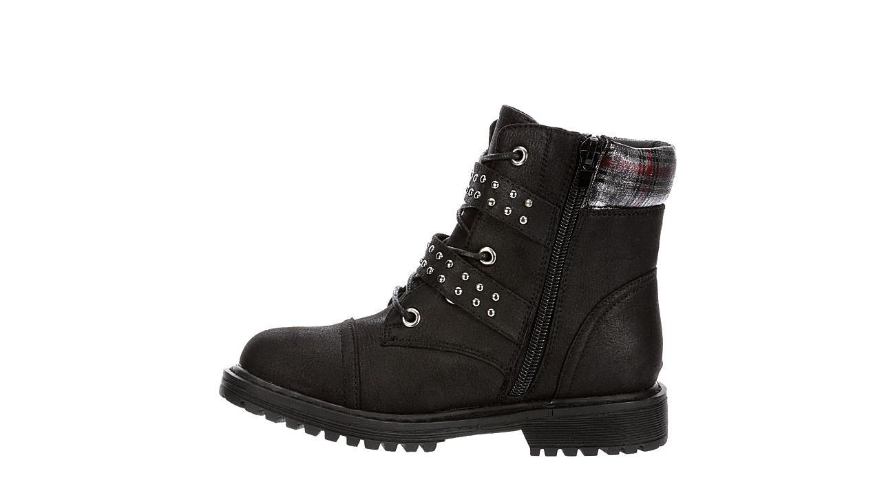 REPORT Girls Ebba Combat Boot - BLACK