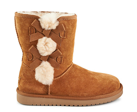 Girls Victoria Short Cozy Boot