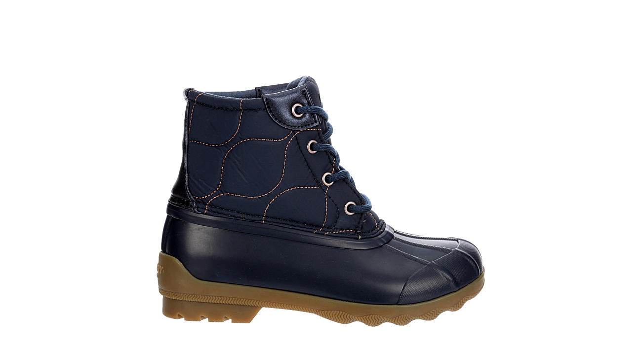 SPERRY Girls Port Boot - NAVY