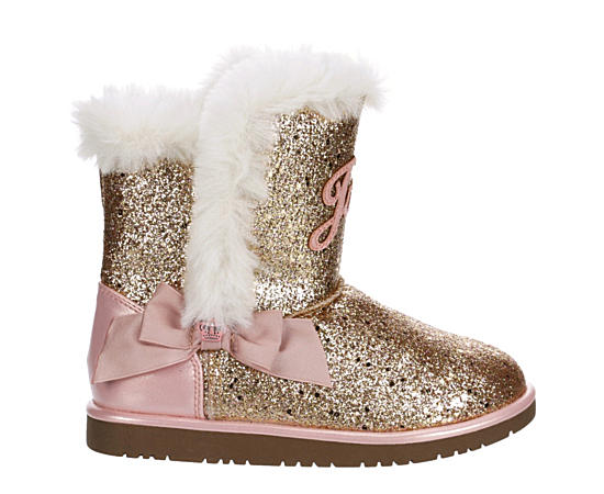 Girls Windsor Glitter Cozy Boot
