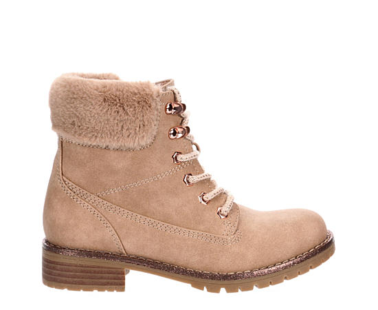 Girls Blushing Combat Boot