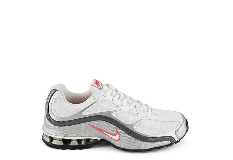 reputable site 7c871 3aa65 Nike Womens Reax Run V Running Shoe - White