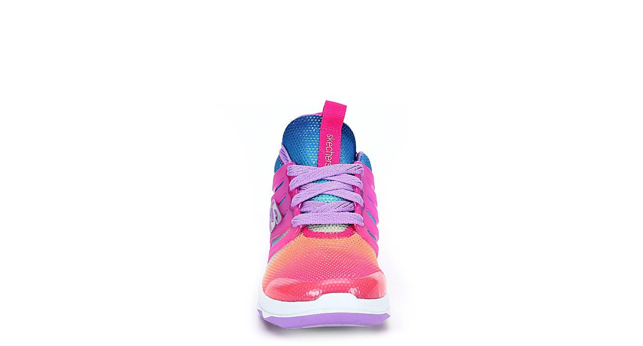 Skechers Kids Girls Diamond Runner Sneaker Pink
