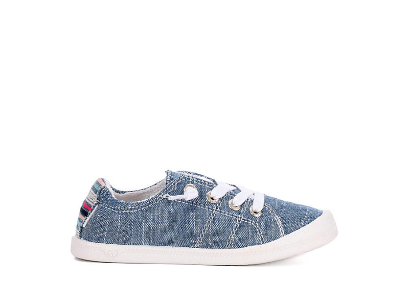 ROXY Girls Bayshore Sneaker - DENIM