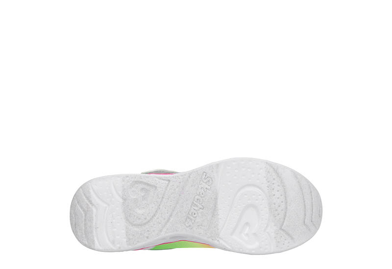 SKECHERS KIDS Girls S Lights Heart Lights - Love Spark 20294l - WHITE