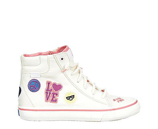 Girls Double Up Hi Top Sneaker
