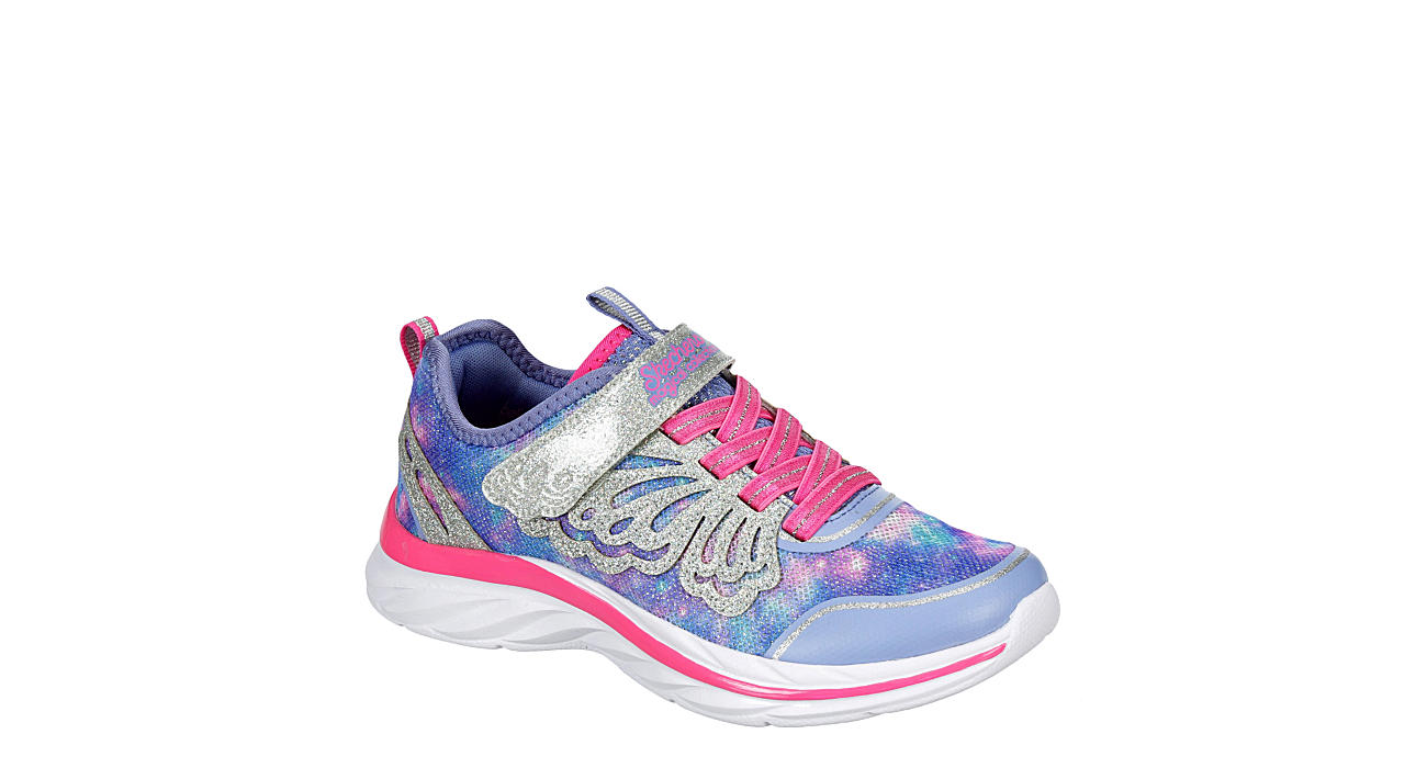 SKECHERS KIDS Girls Quick Kicks - Fairy Glitz 302076l - PURPLE