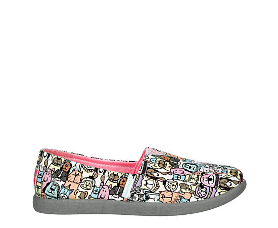 Girls Lil Bobs Solestice 2.0 - Dogs On Parade 300003l