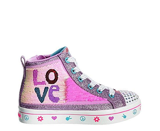 Girls Twi-lites 2.0-lilac Love Hi Top Sneaker