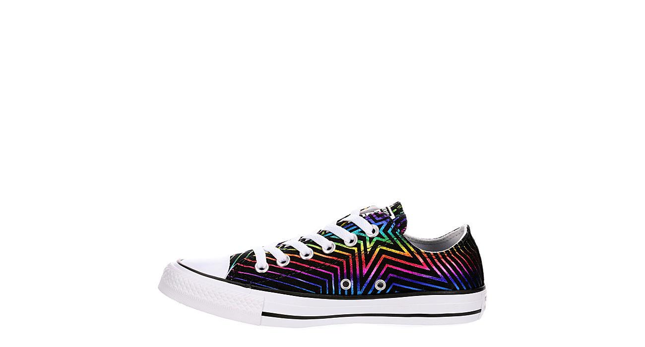 CONVERSE Womens Chuck Taylor All Star Low Sneaker - BLACK