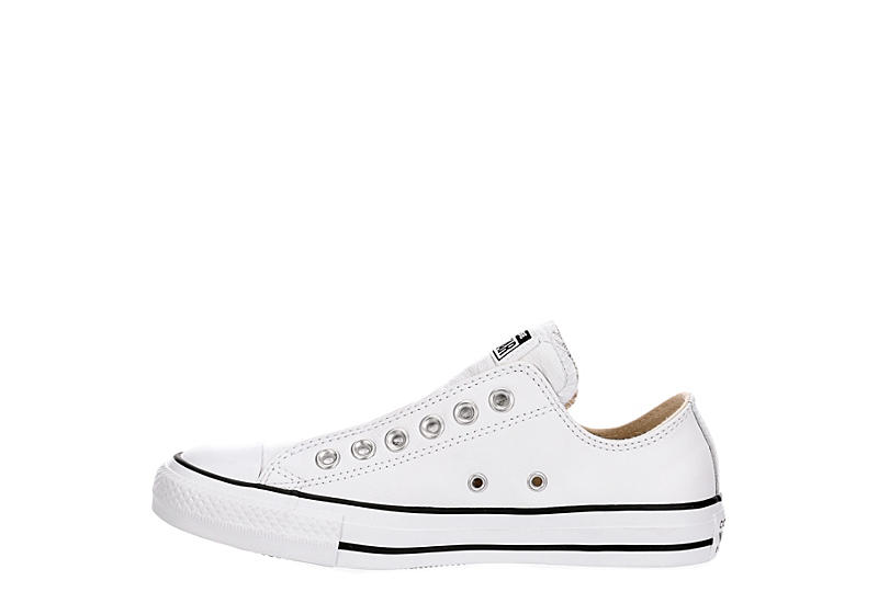 CONVERSE Womens Chuck Taylor All Star Low Slip On Sneaker - WHITE