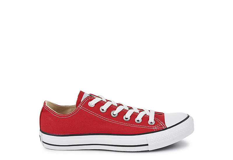 CONVERSE Womens Chuck Taylor All Star Low Sneaker - RED