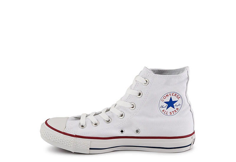 CONVERSE Womens Chuck Taylor All Star High Top Sneaker - WHITE