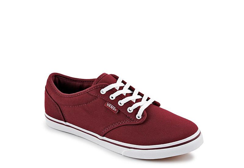 Burgundy Vans Women s Atwood Sneaker  45652e608c9a