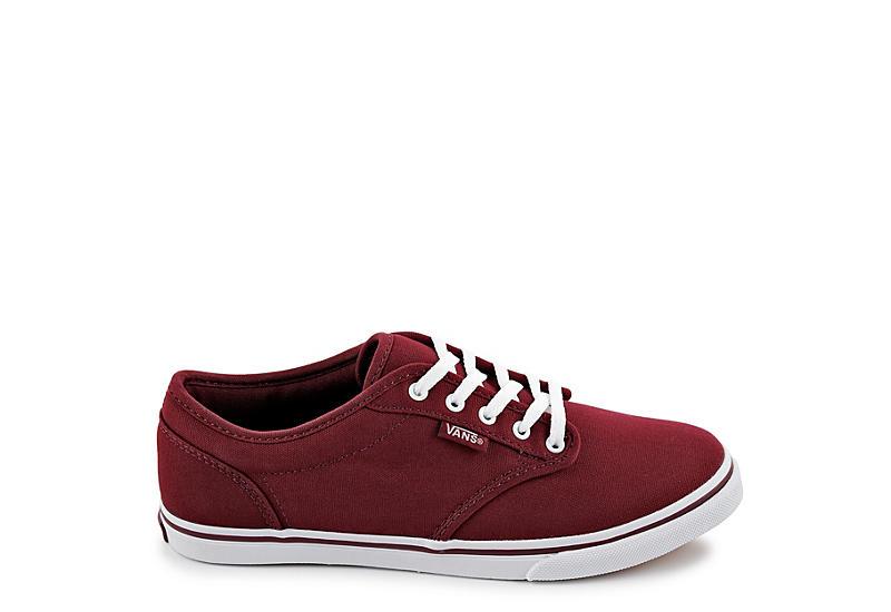 e6c95d273b Burgundy Vans Women s Atwood Sneaker
