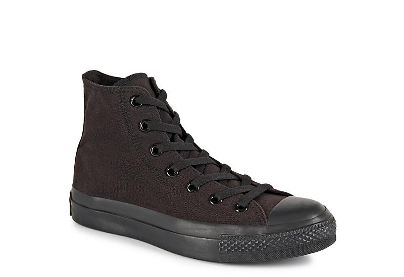 CONVERSE Womens Chuck Taylor All Star High Top Sneaker - BLACK