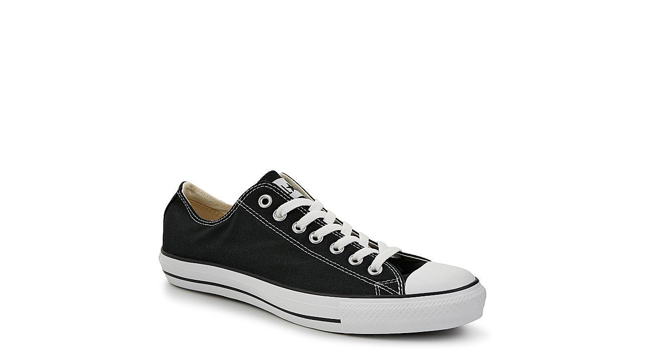 CONVERSE Mens Chuck Taylor All Star Low Sneaker - BLACK