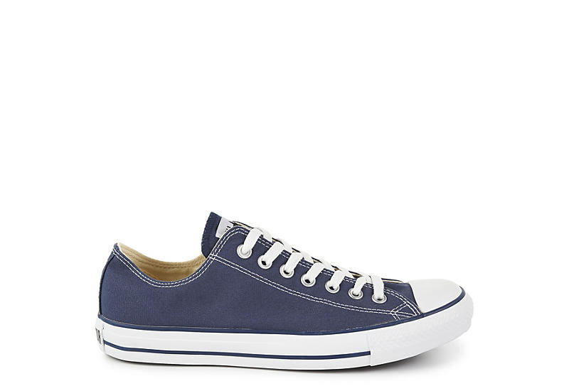 CONVERSE Mens Chuck Taylor All Star Low Sneaker - NAVY